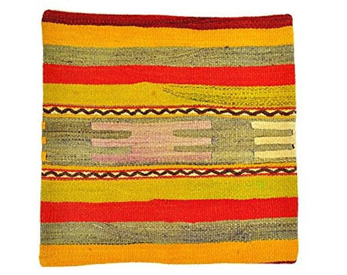 Kilim pillow cover, Kilim Pillow, Turkish Pillow, Kilim Cushions, Kilim, Moroccan Pillow, Bohemian Pillow, Turkish Kilim, KP70 (tp1-36)