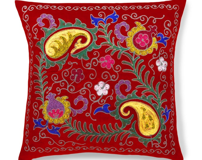 "Royal Blush, 19"" Patduzi Pillow Cover - PP1 (4073)"