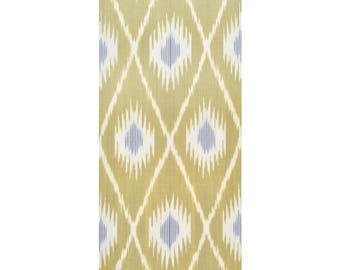 Sale! Ikat Fabric, Ikat Fabric by the yard, Hand Woven Fabric , F7