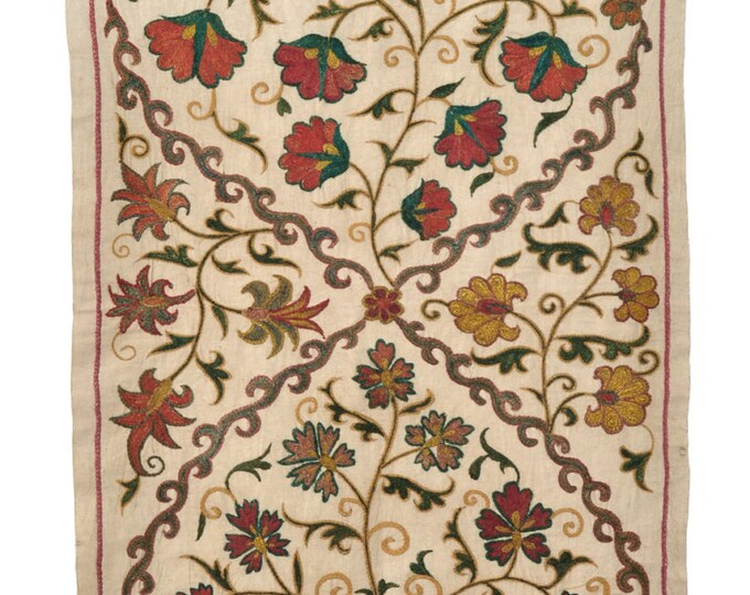 Hand Embroidered Uzbek Modern Suzani NS23 (2033)