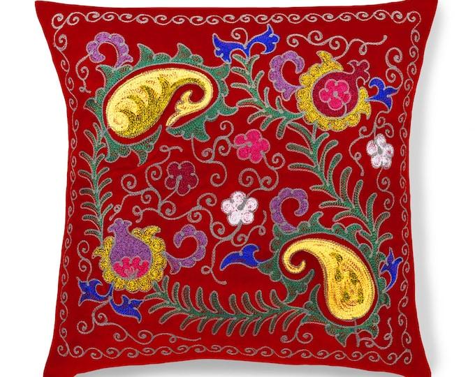 """Royal Blush, 19"""" Patduzi Pillow Cover - PP1 (4073)"""