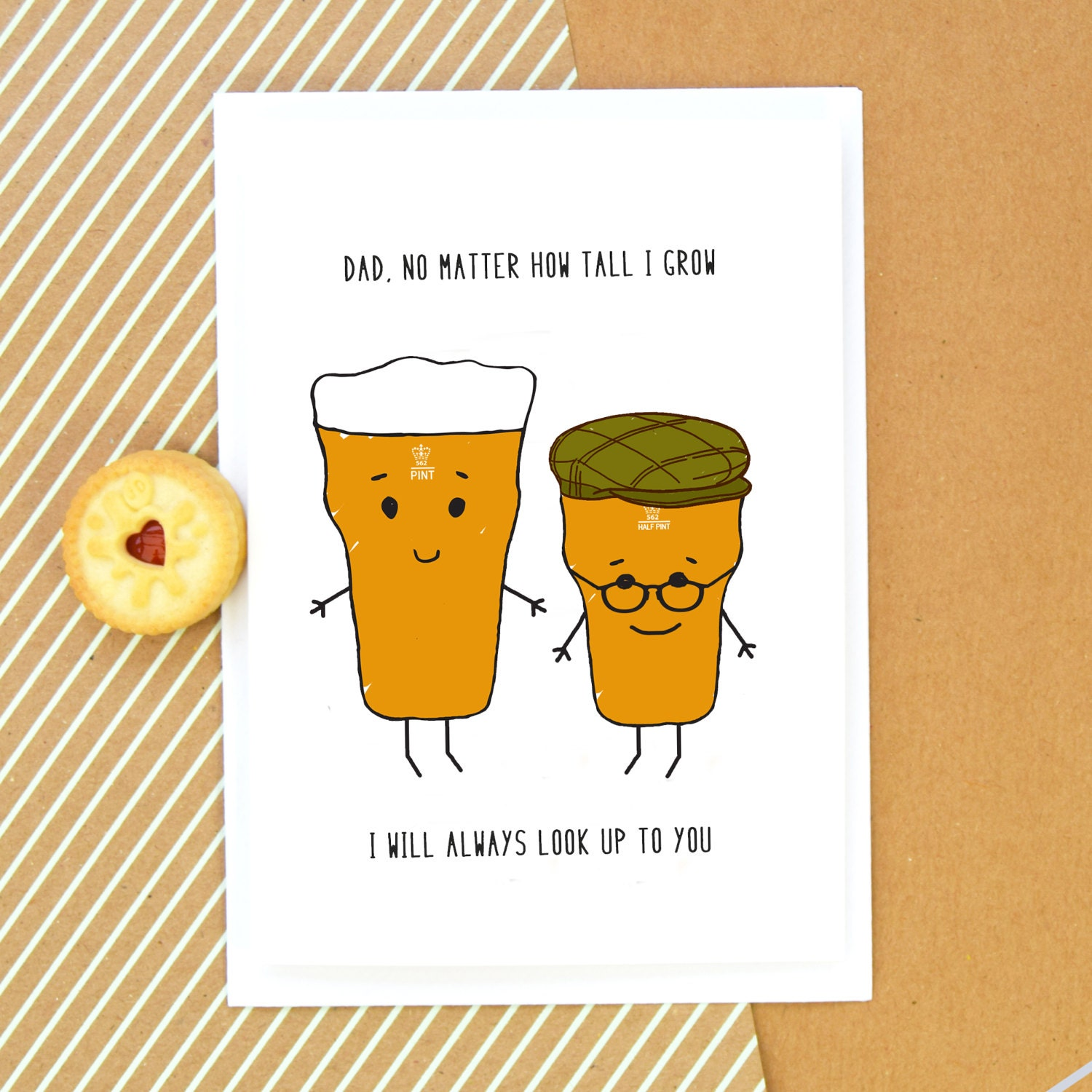 Funny Card For Dad Birthday Fathers Day
