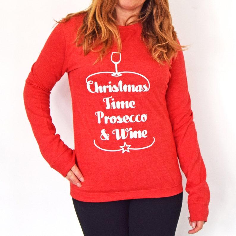 38966ed5ff4 Noël du Prosecco   vin pull Sweat Prosecco Prosecco Noël