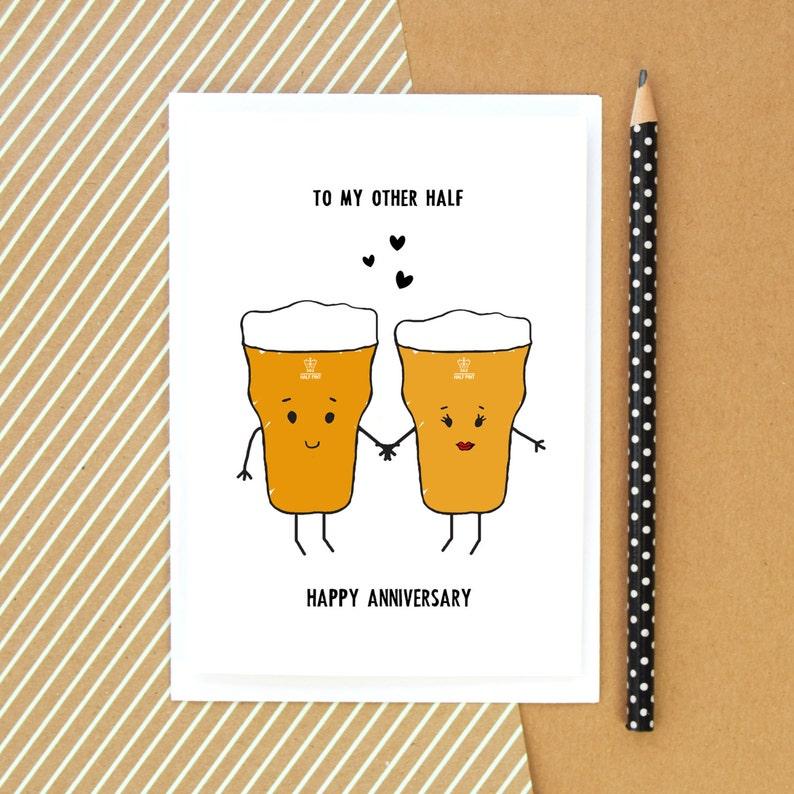 Extreem Verjaardag Card voor hem bier kaart grappige bier kaart | Etsy @NH04