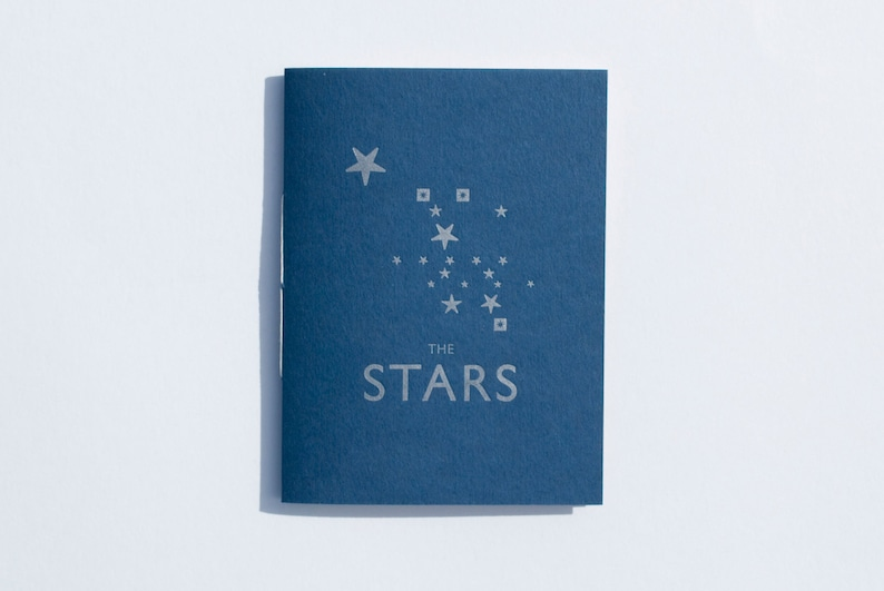 The Stars Letterpress Zine image 0
