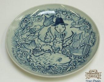 The Delft Jingdezhen connection, porcelain plate, 2010