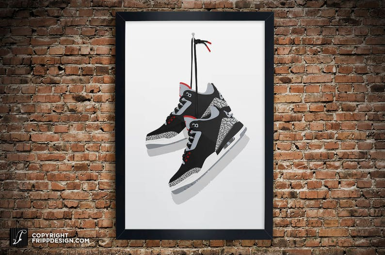 2adf5b7dd Air Jordan 3 OG Black Cement True
