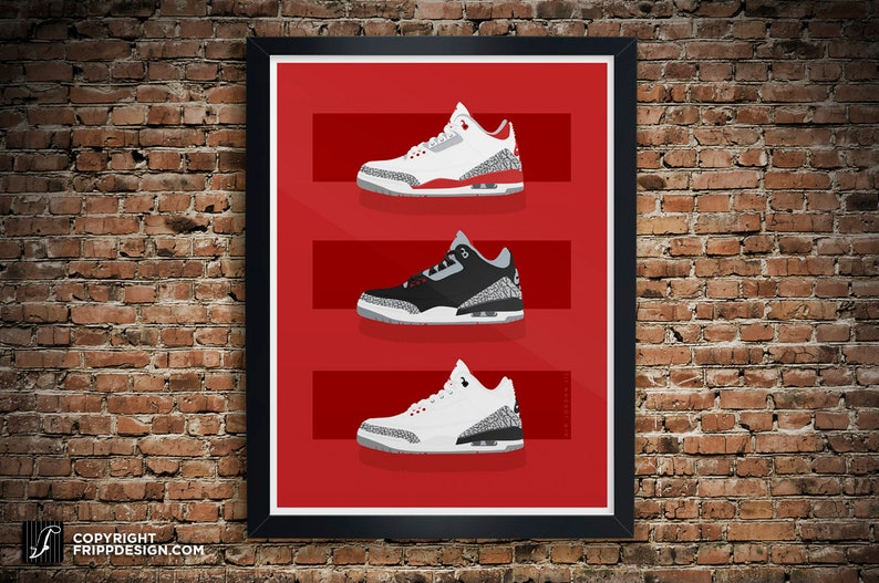 c44ff718fb42ec Air Jordan 3 Collection 3 Bars Design