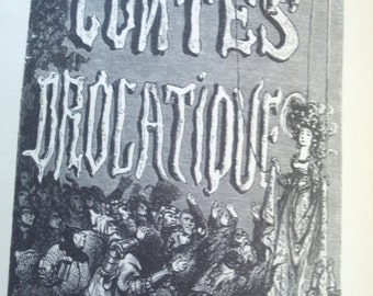 Les Contes Drolatiques By Balzac and Gustave Dore 1926