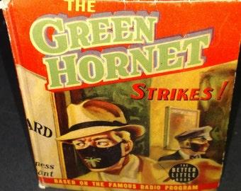 1940 The Green Hornet Strikes! Better Little Book #1453 By Fran Striker