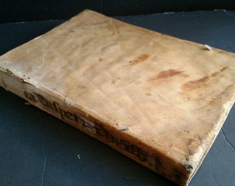 Despertador Christiano De Sermones Doctrinales- 1694- Anthropodermic Bibliopegy?