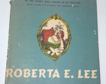 Roberta E. Lee Vintage Children's Book by Burke Davis- Inscribed by Author