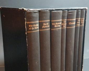 The Northanger Set of Jane Austen Horrid Novels (7 volume set) Inscribed by  Devendra P. Varma