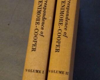 Correspondence of James Fenimore-Cooper Two Volume Set