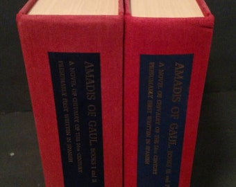 Amadis of Gaul  by Edwin B. Place and Herbert C. Behm.  Two volumes.