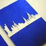 New York City Skyline Laser Cut Belly Band