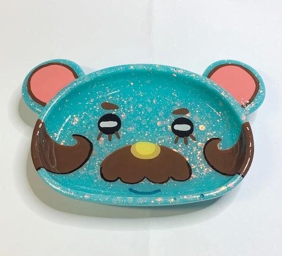 Made to Order Cute Kawaii Beardo Resin Trinket Tray Ring Jewelry Dish