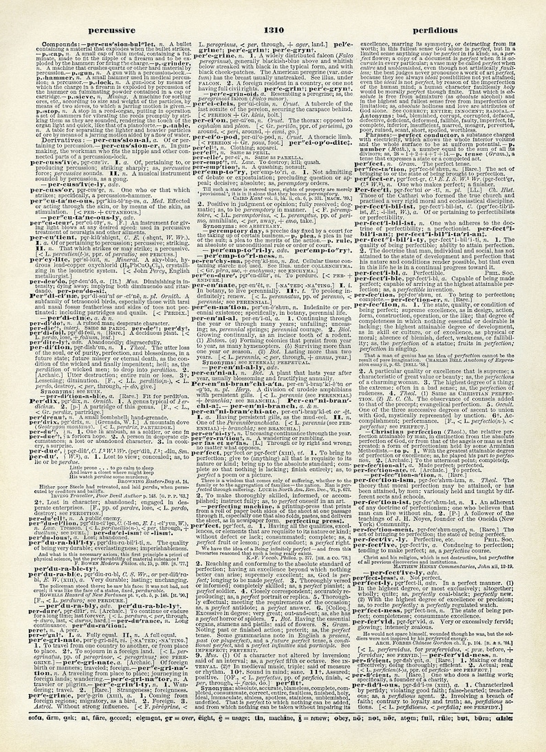 photo relating to Printable Vintage Dictionary Pages named Printable Dictionary Web page Peregrine Perennial Best Perfection Typical E-book Sheet Electronic Down load JPG Layout