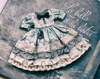 FORGOTTEN SECRETS  Blythe/Pullip Dress By Odd Princess, 2021 Exclusive Doll Couture