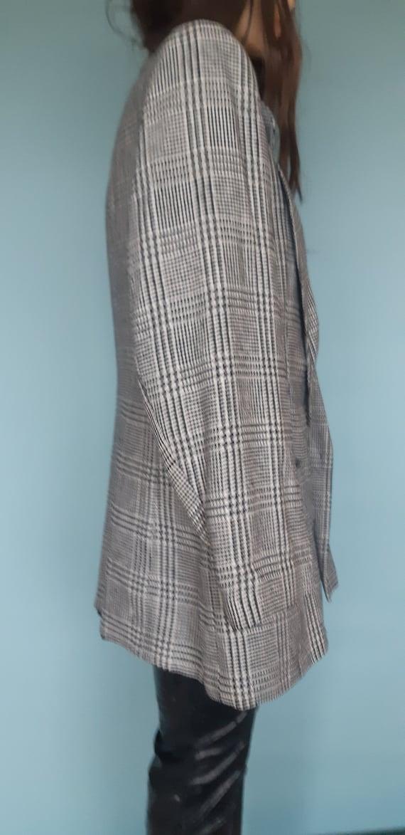 women's blazer silk suit jacket - image 3