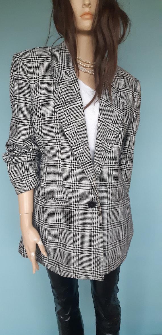 women's blazer silk suit jacket - image 2