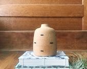 Modern Ceramic Vase 33 - unglazed vase - modern ceramics - minimalist - home decor - bud vase