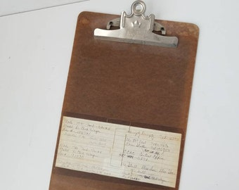 Vintage A&W Legal Clipboard Office Supplies 531