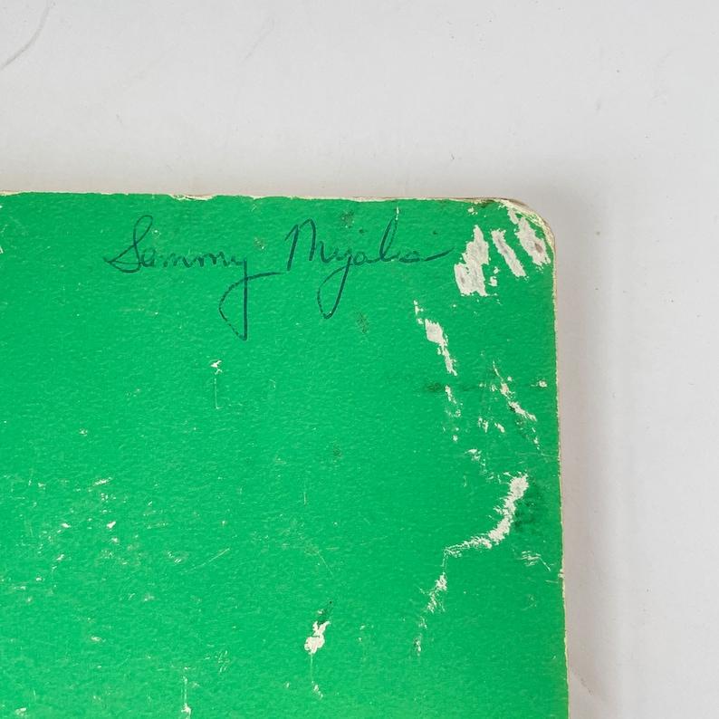 Texas A /& M Spiral Notebook Vintage Junk Journal Green College Ruled
