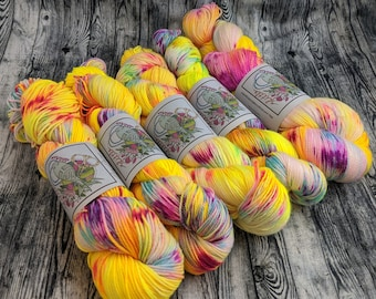 Neon Dream - Indie Dyed Yarn