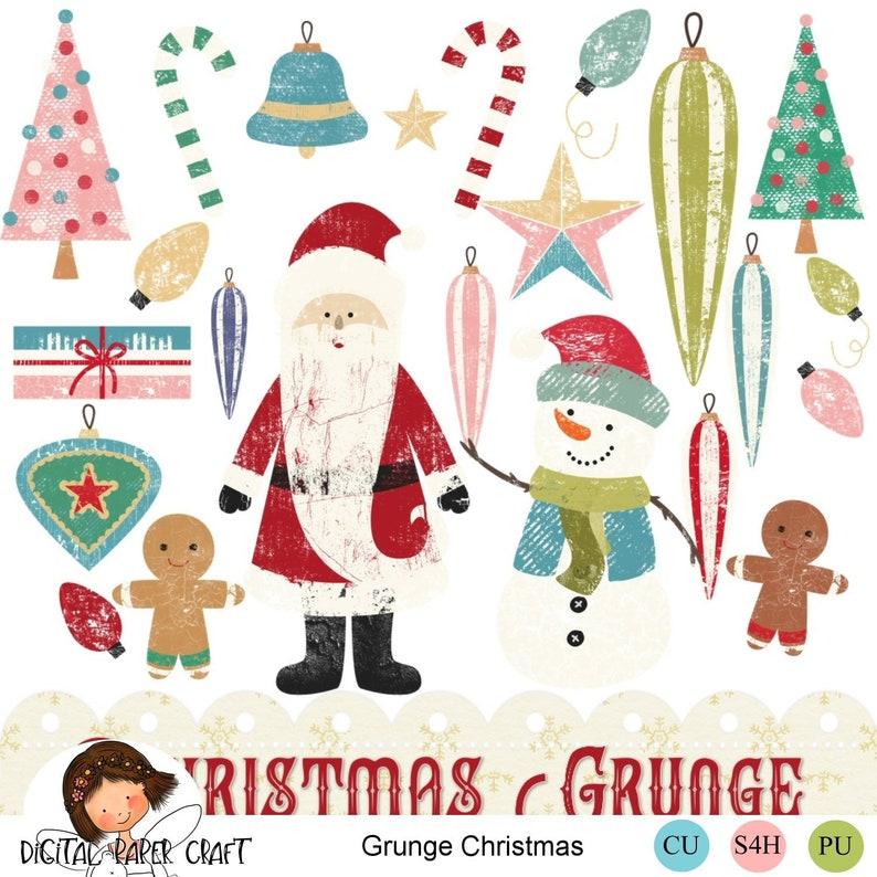 8ed2624511fb3 Christmas Clipart Retro Christmas Christmas Clip Art