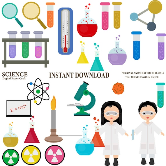 science clipart chemistry clipart school clipart experiment etsy rh etsy com chemistry clip art chalk chemistry clip art for teachers