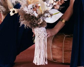 Macrame Bouquet Wrap : Lacey