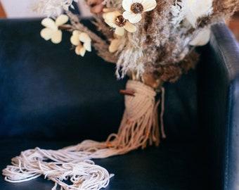 Macrame Bouquet Wrap : Copper