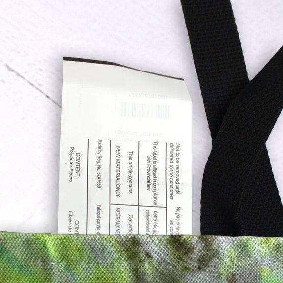 Tote Bag Plantain Leaf CHR-PLF Nature canvas bag eco-friendly green grocery shopping cool shoulder bag gift for her reusable travel bag