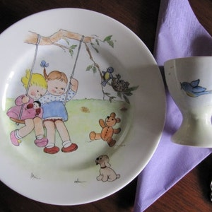 Pirate Royal Doulton plate and Mug present for a small lad