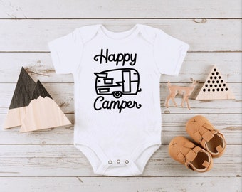 United States Forest Service Happy Camper USA Youth Newborn Infant Rompers