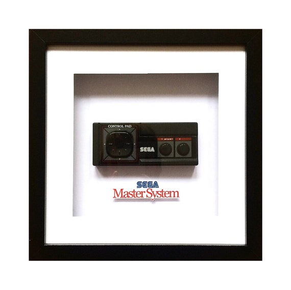 Genuine Sega Master System Controller Wall Art- Fathers Day Gift Present