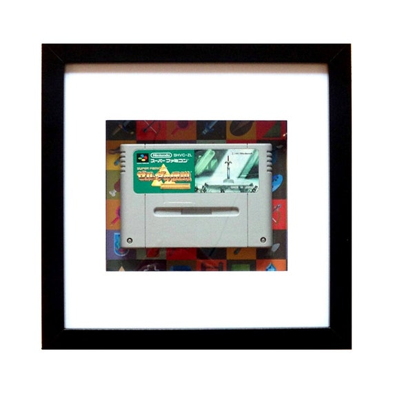 The Legend of Zelda - A Link in the Past Super Famicom Game Framed Wall Art- Fathers Day Gift Present