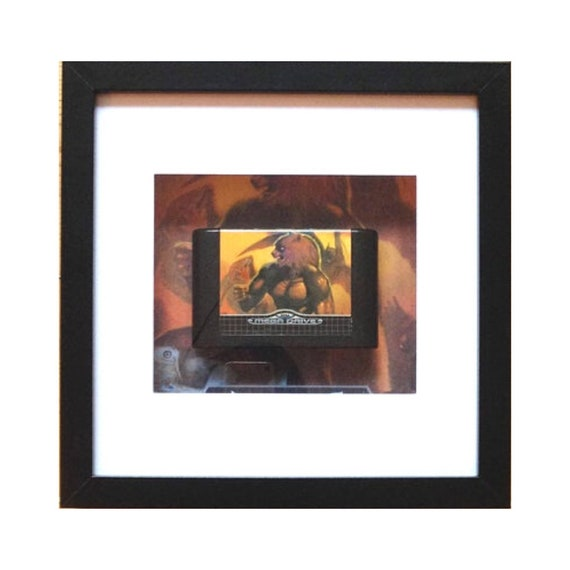 Altered Beast SEGA Megadrive Game Framed Wall Art- Fathers Day Gift Present