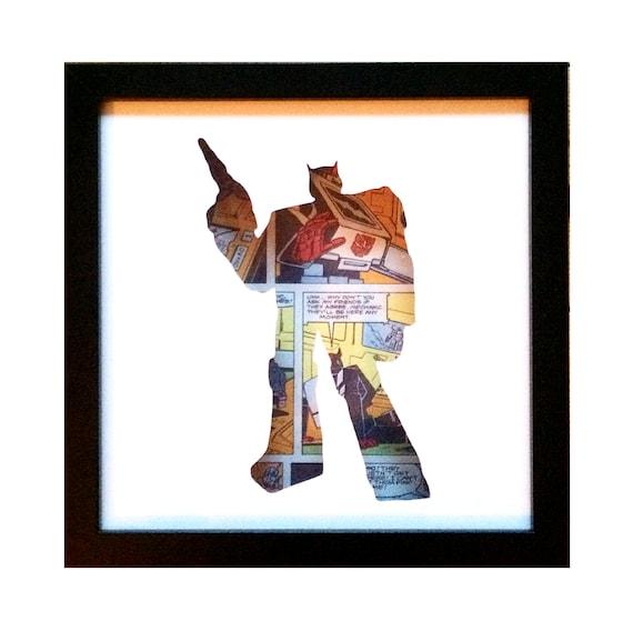 Ratchet Silhouette Wall Art - Transformers Autobots