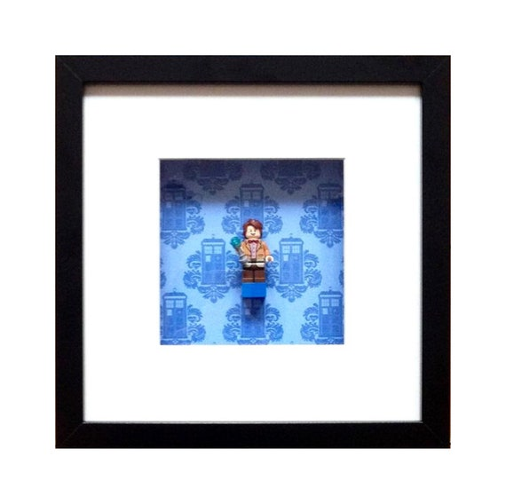 Doctor Who - Matt Smith Minifigure Wall Art
