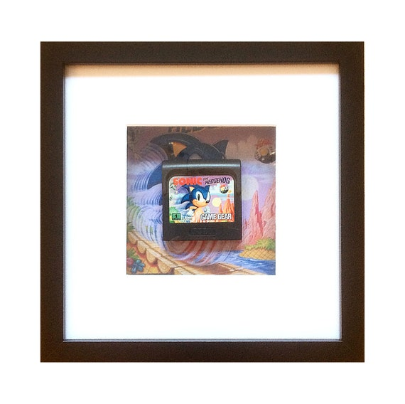 Sonic the Hedgehog Game Gear Cart Framed Wall Art