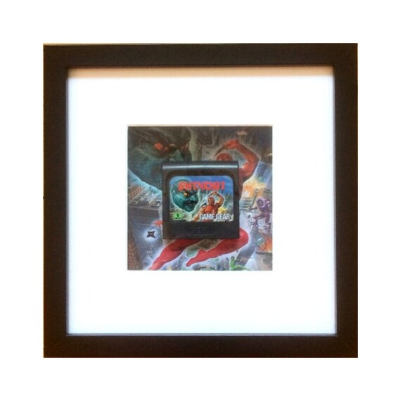Shinobi Game Gear Cart Framed Wall Art