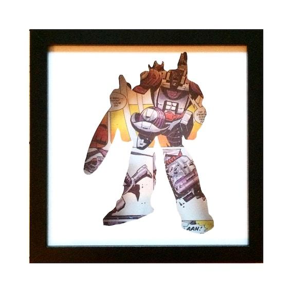 Galvatron Silhouette Wall Art - Transformers Decepticons