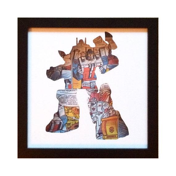 Ultra Magnus Silhouette Wall Art - Transformers Autobots