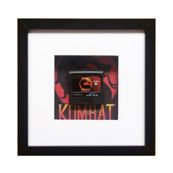 Mortal Kombat Game Gear Cart Framed Wall Art- Fathers Day Gift Present