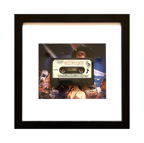 Return of the Jedi - Star Wars Story Book Cassette Framed Wall Art- Fathers Day Gift Present