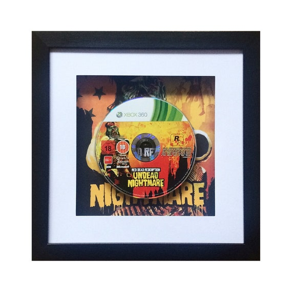 Red Dead Redemption - Undead Nightmare Xbox 360 Game Framed Wall Art