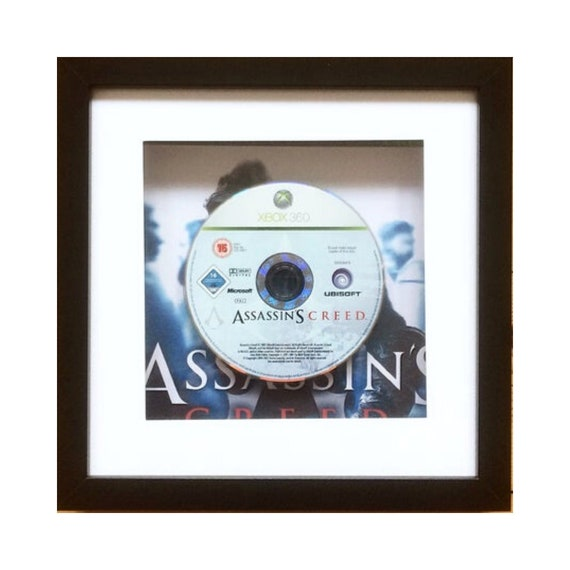 Assassins Creed Xbox 360 Game Framed Wall Art- Fathers Day Gift Present