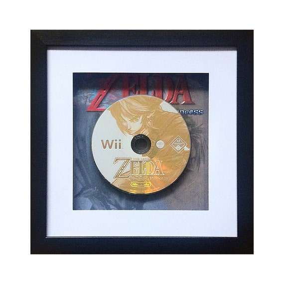 The Legend of Zelda Twilight Princess Nintendo Wii Game Framed Wall Art